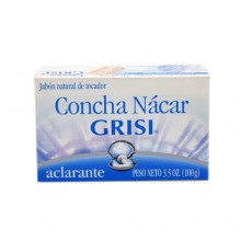 Grisi nacre shell soap 3.5 oz
