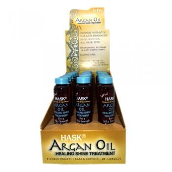 Hask argan oil healing shine treatment 0.625 oz x 18pcs