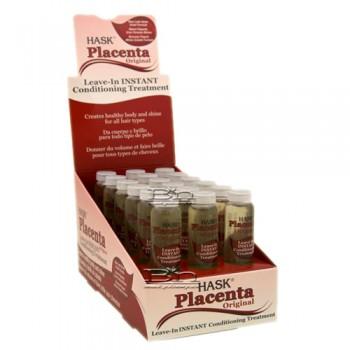 Hask Placenta Vials Original Leave-In 18pcs