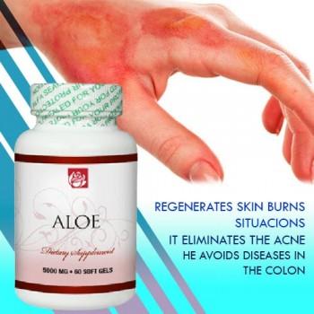 Aloe 5000 Mg. 60 Soft Gels