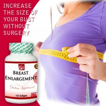 Breast Enlargament - Dietary Supplement 100 Softgels