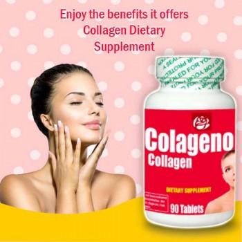 Collagen Dietary Supplement 90 Caps