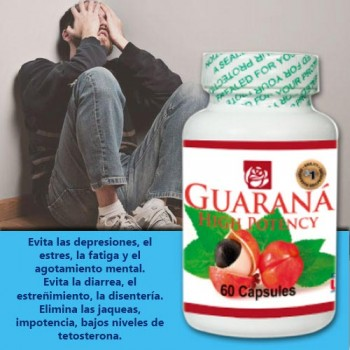 Guarana  High Potency 60 caps