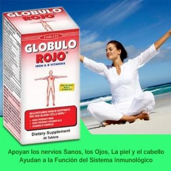Globulo Rojo 60 Tablets