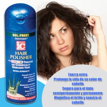 Hair Polisher Serum for color treated hair 6 oz.