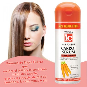 Carrot Serum - Hair Polisher 178 ml 6 Fl