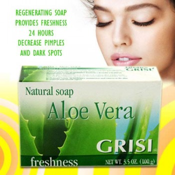 Grisi Aloe Vera Soap 3.5 Oz/100 Gms
