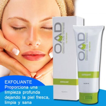 Exfoliant for woman