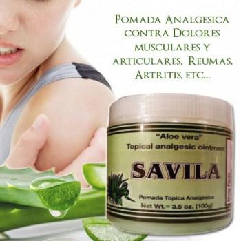 Aloe Vera - Topical Analgesic Ointment 3.5Oz (100g)
