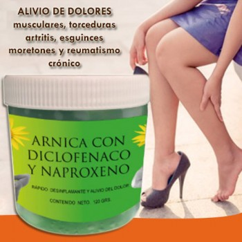 Arnica with Diclofenac and Naproxen 120g