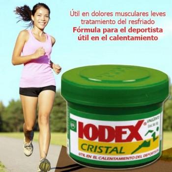 Ointment Iodex Cristal 60GR 2 OZ