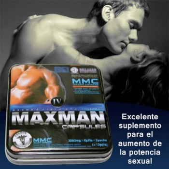 MAX MAN – Male Enhancement capsules