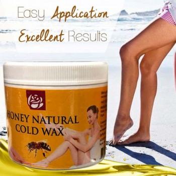 Honey Natural Cold Wax 4 Oz