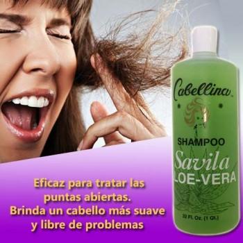 Cabellina Shampoo Aloe vera - Sabila 32 Fl. Oz