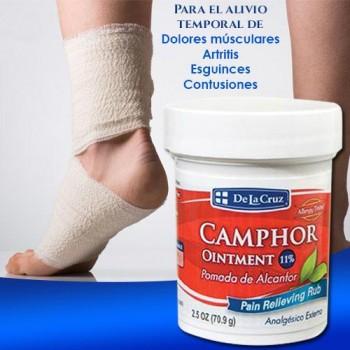 De La Cruz Camphor Ointment 2.5 OZ