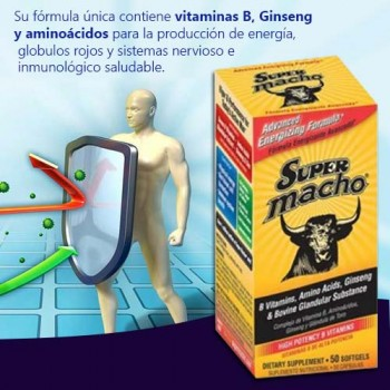 Super Macho 50 Softgels