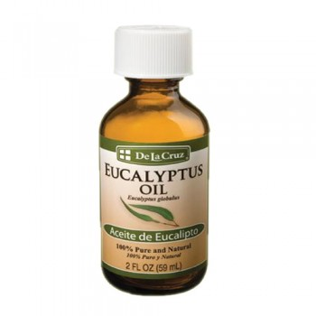 De la Cruz Eucalyptus Oil 2 FL OZ (59 ml)