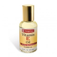De la cruz  vitamin e oil 15000 iu