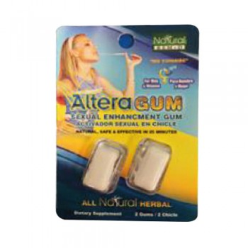 Altera Gum - Sexual activator Chicle