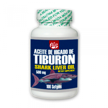 Shark Liver Oil 500 mg 100 Softgel