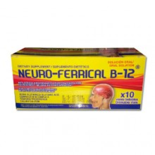 Neuro-ferrical B12 - 10 Vials
