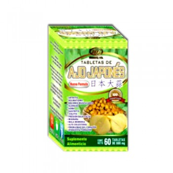 Japanese garlic 800mg 60 Tablets