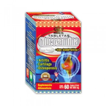 Glucosamine with chondroitin 800 mg 60 Tablets