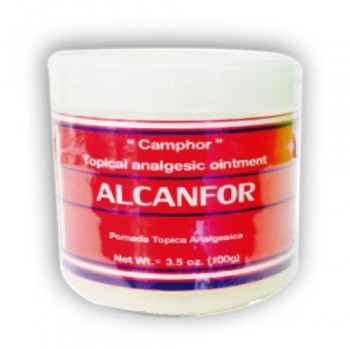 Camphor - Topical Analgesic Ointment 3.5Oz (100g)