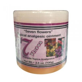 7 Flores - Topical Analgesic Ointment 3.5Oz (100g)
