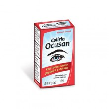 Colirio Ocusan redness relief eye drops 15 mL