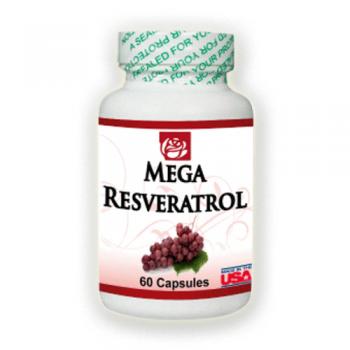 Mega Resveratrol 60 Caps