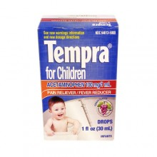 Tempra Infants Grape Flavor 1 Oz.