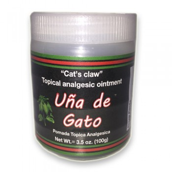 Cat's claw Cream 3.5 Oz