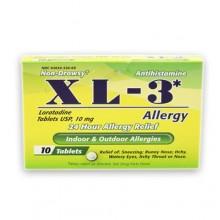 XL-3 Antihistamine Allergy 10 tablets