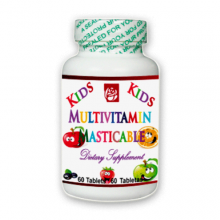 Kids Multivitamin Masticable 60 Tablets