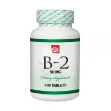 Vitamin B2 50 mg 100 Tablets