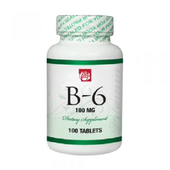 Vitamin B6 100 mg 100 Tablets