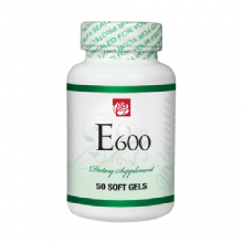 Vitamin E 600 mg 50 Soft Gels
