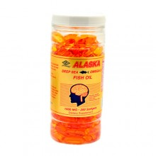 Omega 3 Highly Concentrated Alaska 200 Softgels