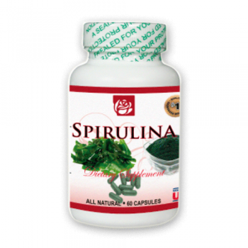 Spirulina Dietary Supplement 60 Caps