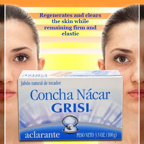 Nacre shell soap