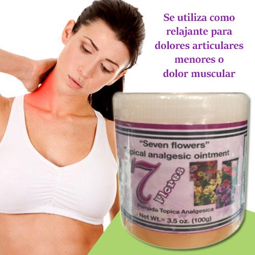 7 Flores - Topical Analgesic Ointment